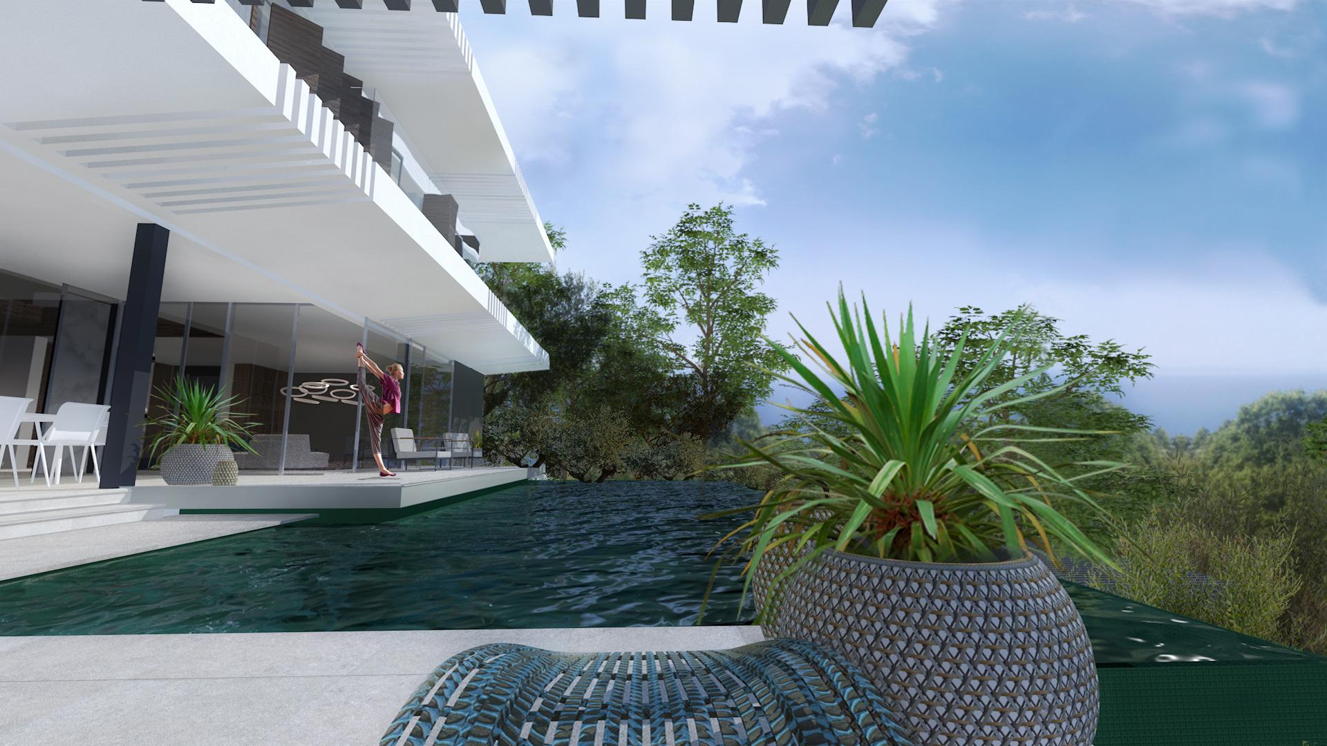 Villa Alma - pool